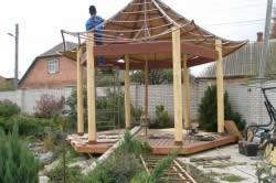 Стропильная система китайской крыши