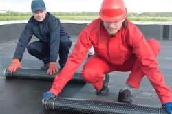 правильный ремонт крыши из рубероида