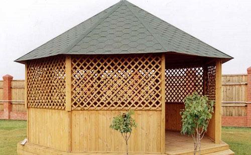 Montaż Miękkiego Dachu Na Altanie