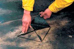 Заплаточный ремонт крыши гаража