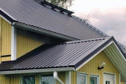 Профнастил в качестве покрытия для крыши