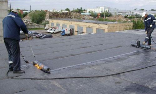 Ремонтные работы на крыше