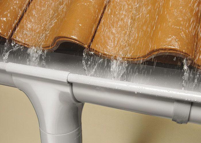 Водосток для крыши