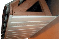 Пример отделки карниза крыши