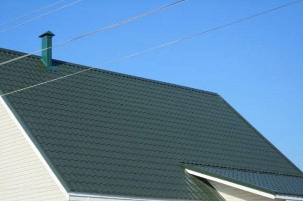Подбой крыши дома