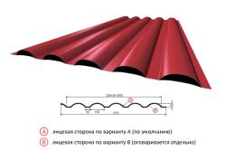 Схема листа и размеров пофнастила