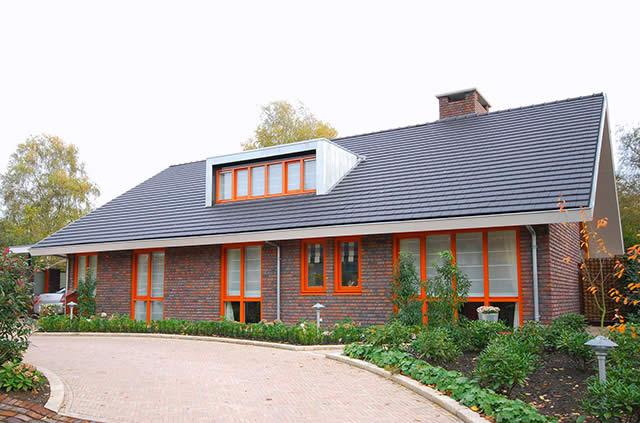 Пример скатной крыши