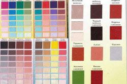Разнообразие цветов для покраски кровли