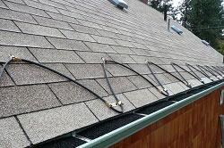 электрический обогрев крыш
