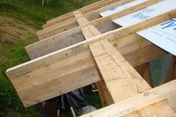Материал для крыши шале
