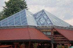 прозрачные материалы крыши