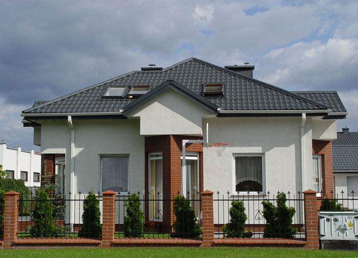 Шатровый тип крыши