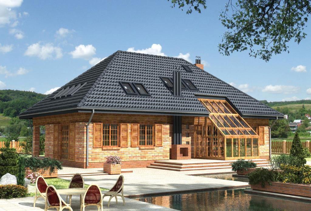 Возведение четырехскатной крыши дома