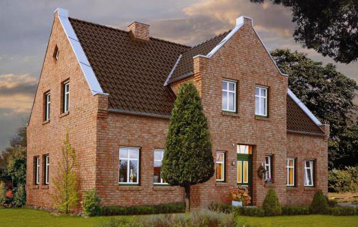 Дом цвет стен крыши сочетание