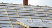 Ремонт крыши в городе делали