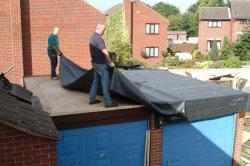 Подготовка крыши к ремонту