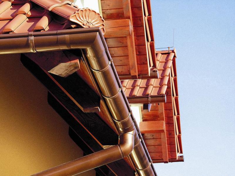 Водоотвод крыши