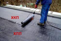 Укладка бикроста в два слоя на новой крыше