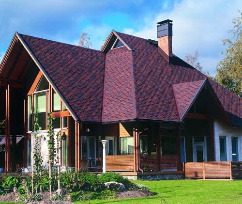 Кровельное покрытие крыш домов