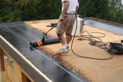 Ремонт крыши гаража с помощью бикроста