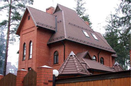 Пример сложной крыши