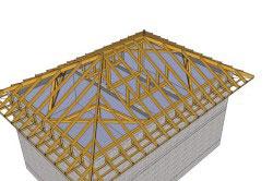 Крыша дома своими руками расчет