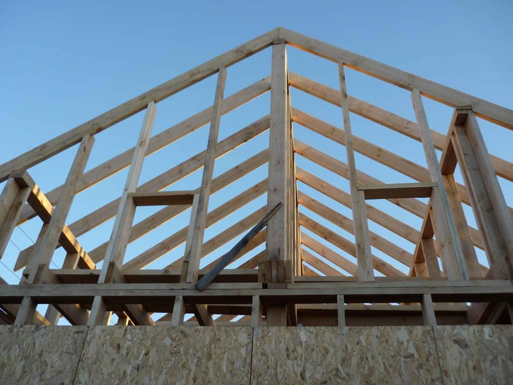 Крыша с фронтонами своими руками фото 219