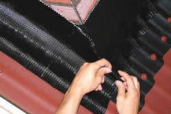 Пример герметизации стыков кровли полиуретановым герметиком