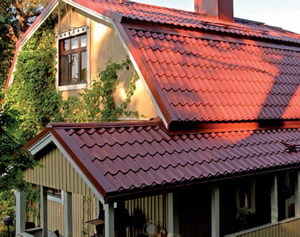 Пример ломаной мансардной крыши