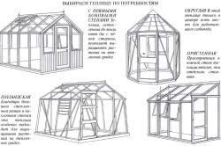 Типы теплиц с односкатной , двускатной и многоскатной крышей