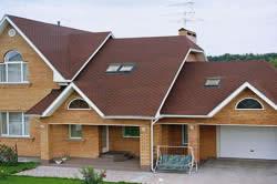 Крыша на основе деревянных стропил