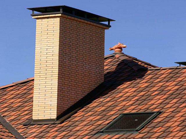 Как заделать выход дымохода на крышу дымоход 130 белый
